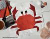 Sandra Healy Designs crab quilt block