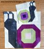 Sandra Healy Designs snail quilt block
