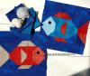 Sandra Healy Designs nautical fish quilt block pattern