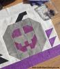 Sandra Healy Designs Jack O'Lantern quilt block
