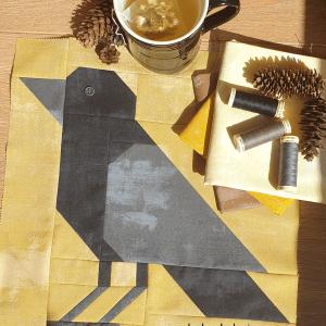 Sandra Healy Designs crow quilt block