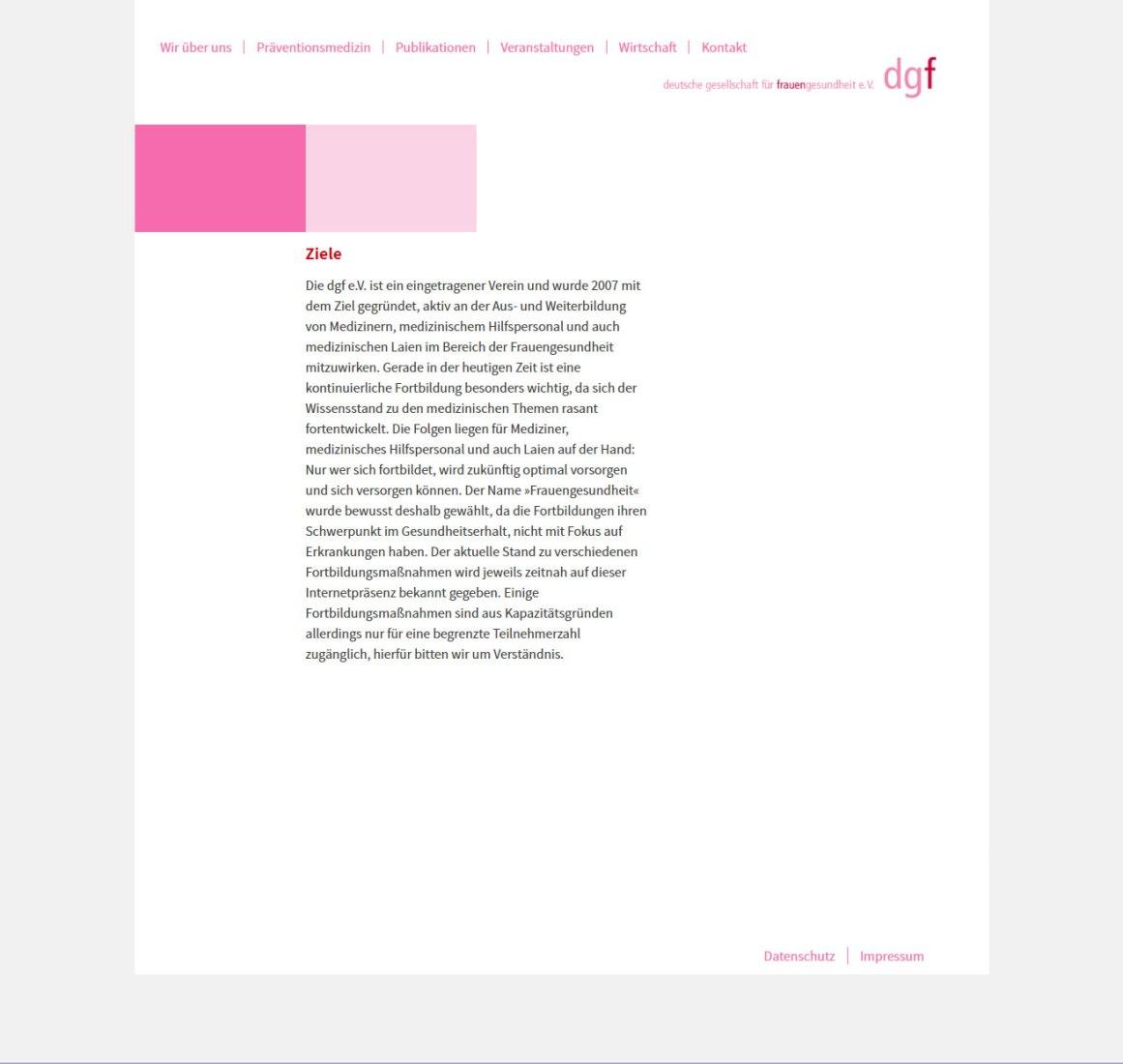 Deutsche Gesellschaft für Frauengesundheit
