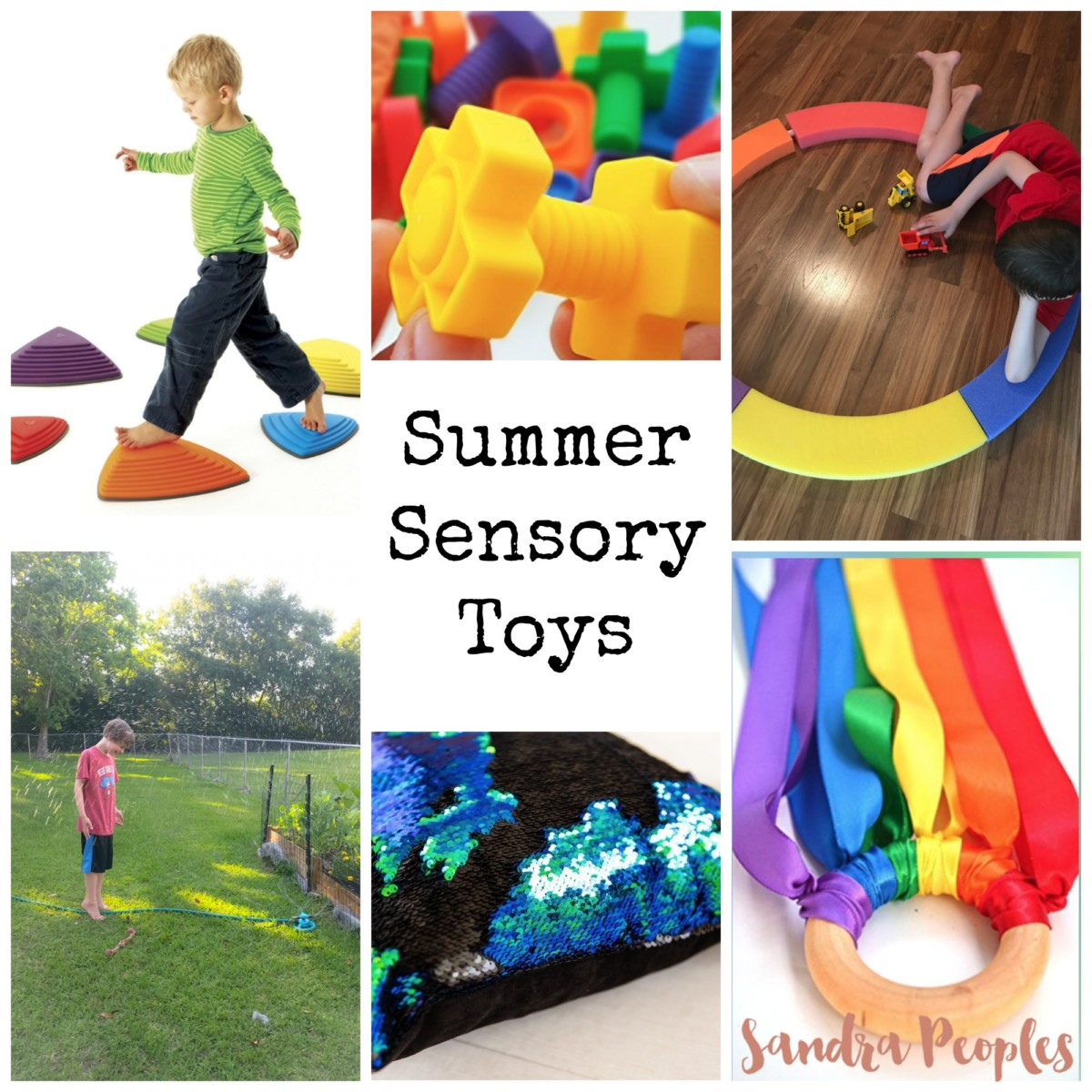 Sensory Toys to Add Fun to Your Summer!