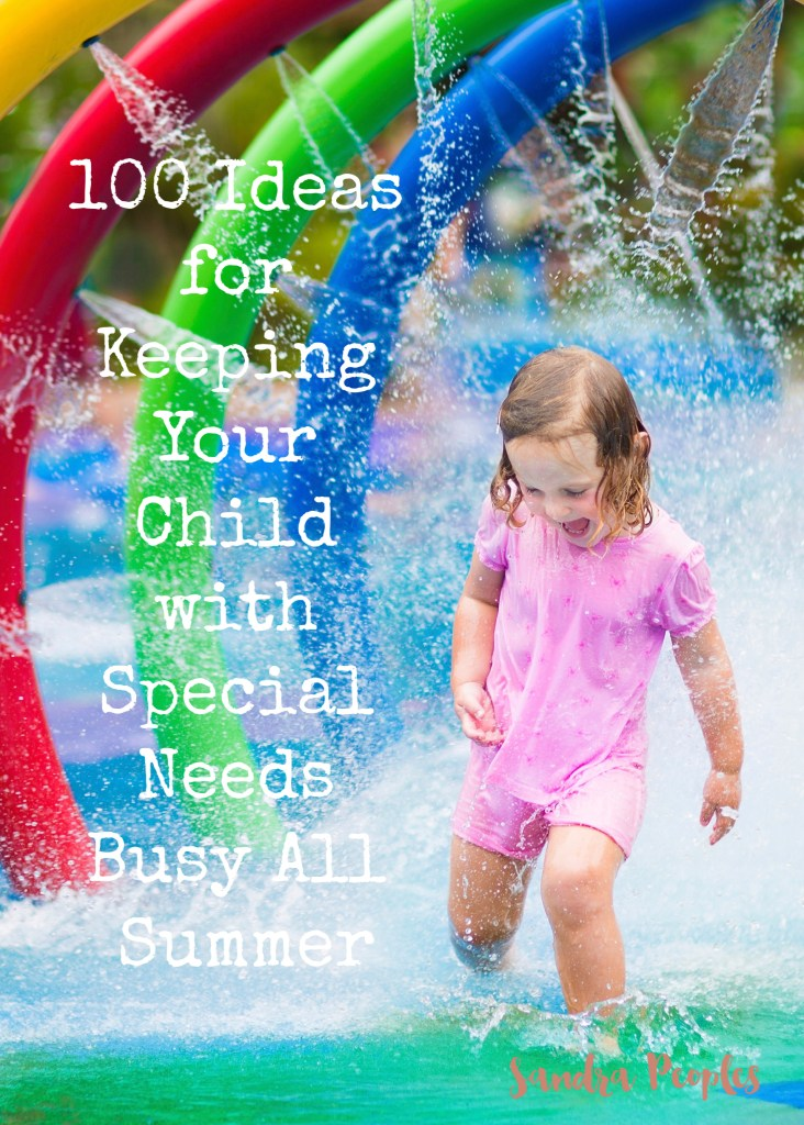 Already wondering how you're going to fill those long summer days? Here's 100 fun ideas to keep you and the kids (or grandkids) busy! -SandraPeoples.com