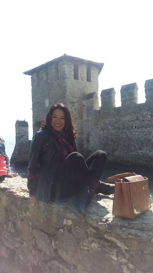 Sirmione e sua jóia medieval, o castelo Scaligero