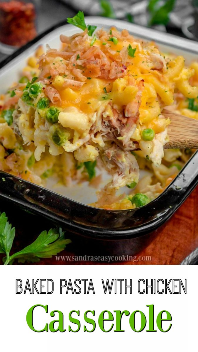 Baked Pasta with Chicken Casserole