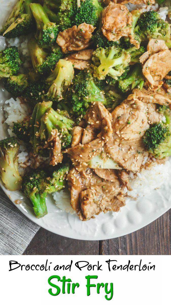 Broccoli and Pork Tenderloin Stir-Fry Recipe