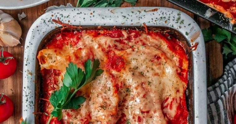 Cheese Stuffed Pasta Shells