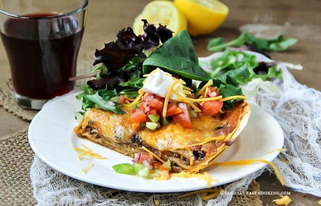 Homemade Fiesta Lasagna Recipe