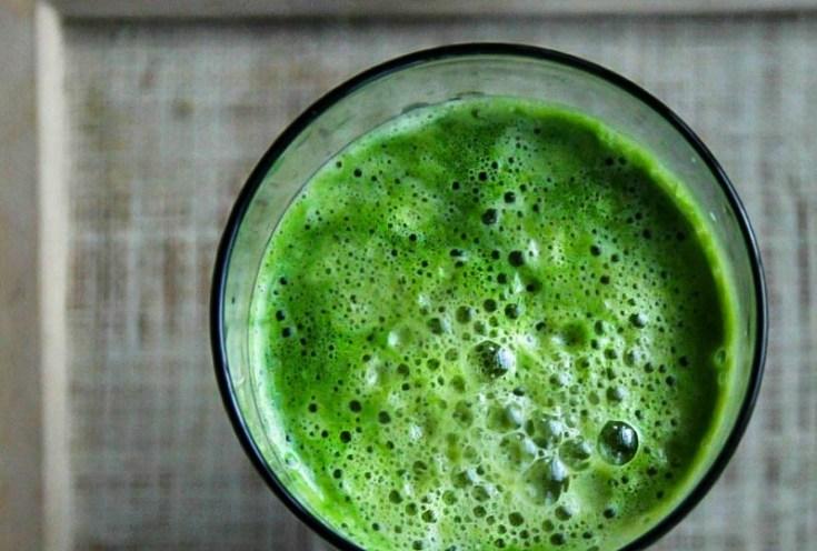 Spinach Apple Orange Juice