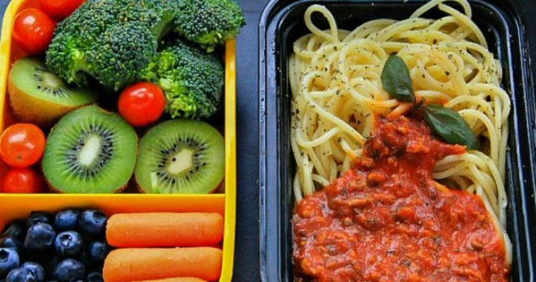 Lunch Box: Spaghetti with Beef Sauce