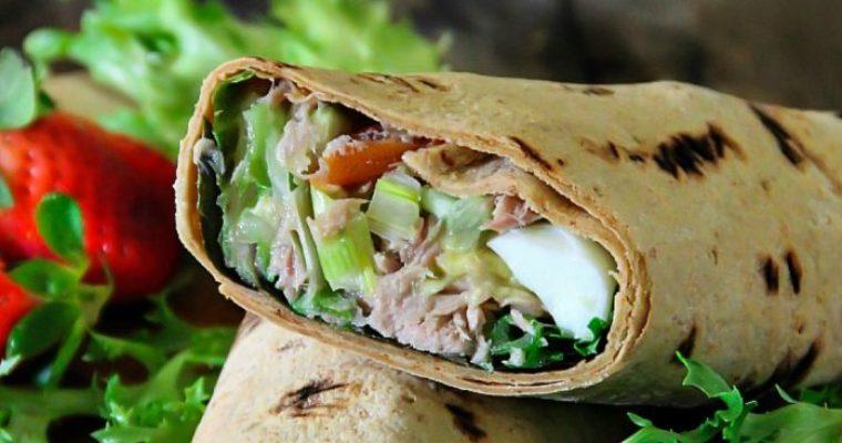 Tuna Salad Wraps