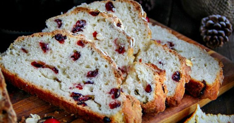 Cranberry Soda Bread + video