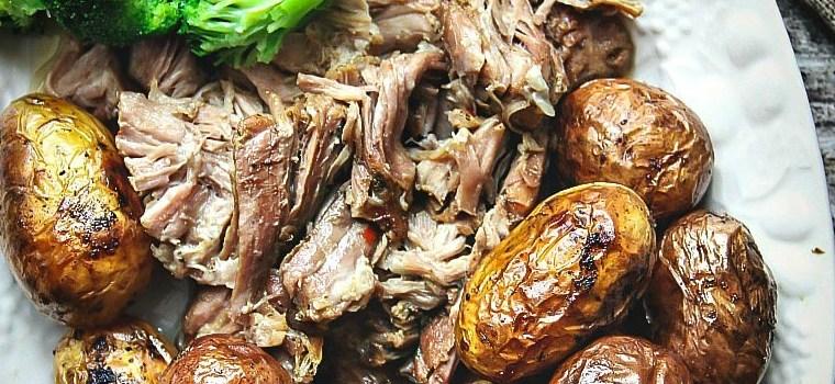 Slow Cooker Pulled Apart Pork