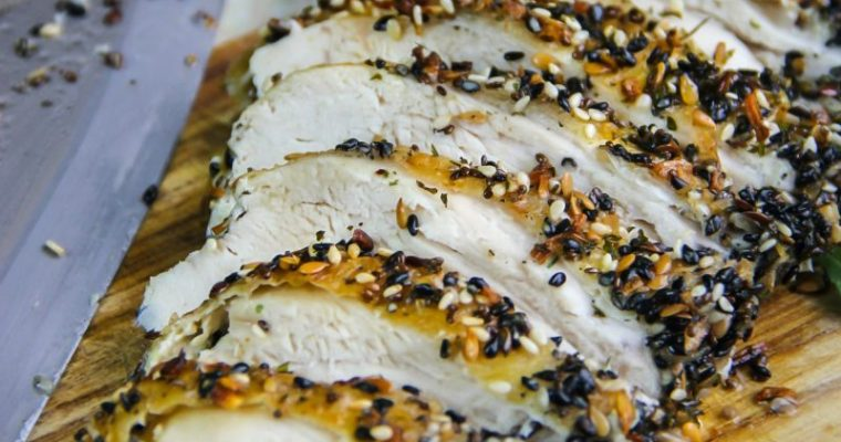 Everything Bagel Baked Chicken {recipe}