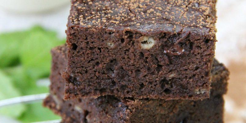 Chocolate Banana Flour Cake (gluten free)