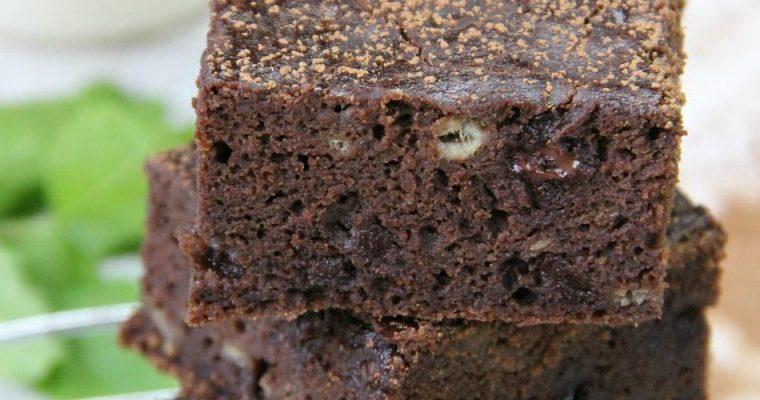 Pereg Chocolate Banana Flour Cake Recipe