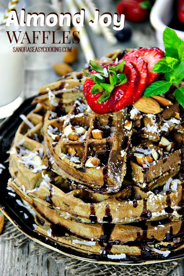 Waffles are such a simple and quick, yet delightful treat to make. I absolutely love using coconut butter or oil because it is healthy as well as delicious, but also it enchants the flavor and aroma.