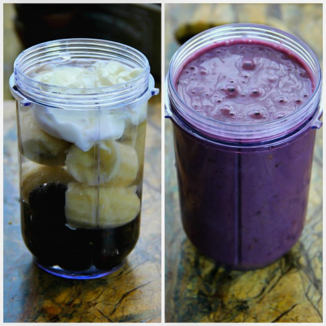 Blackberry-Banana Smoothie