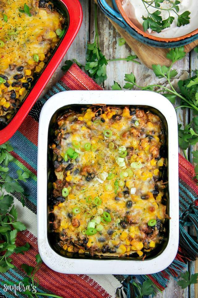 Homemade Mexican Lasagna