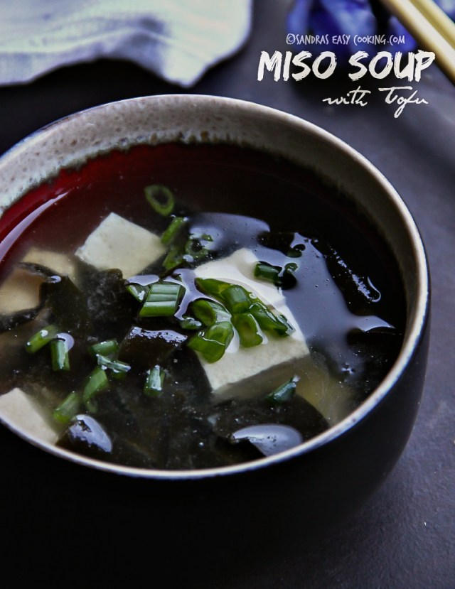 Easy and delicious Miso Soup with Tofu