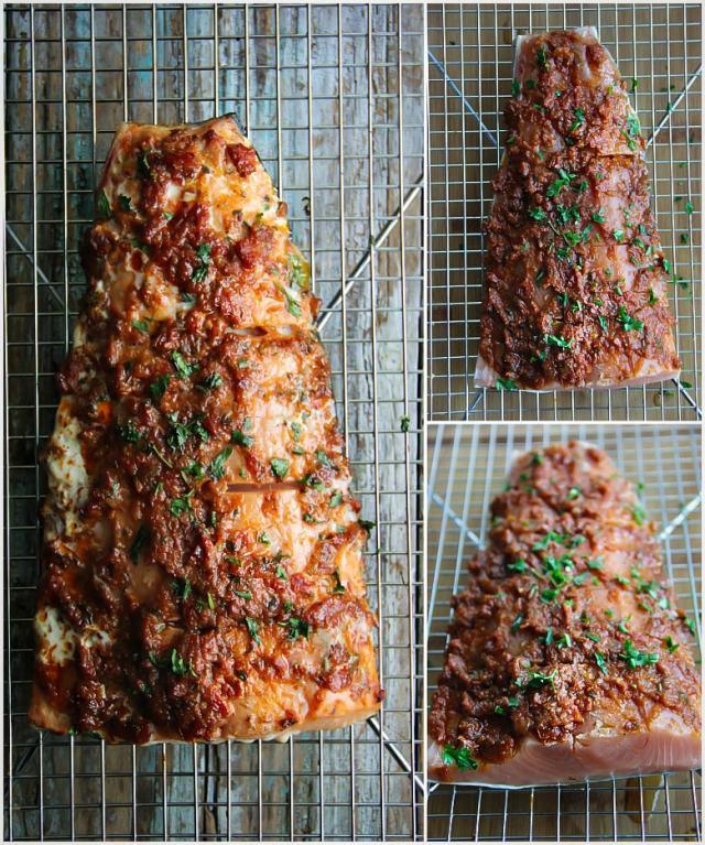 Smoked Sun-Dried Tomato Salmon Recipe