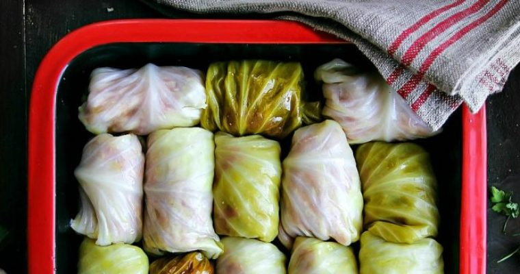 Stuffed Cabbage Rolls — Sarma