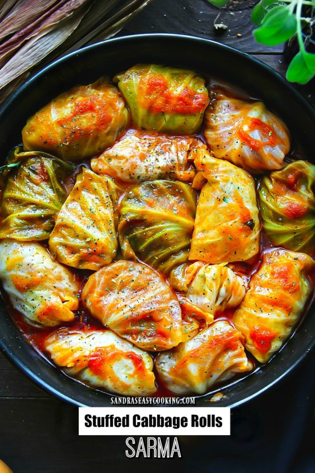 Stuffed Cabbage Rolls Sarma