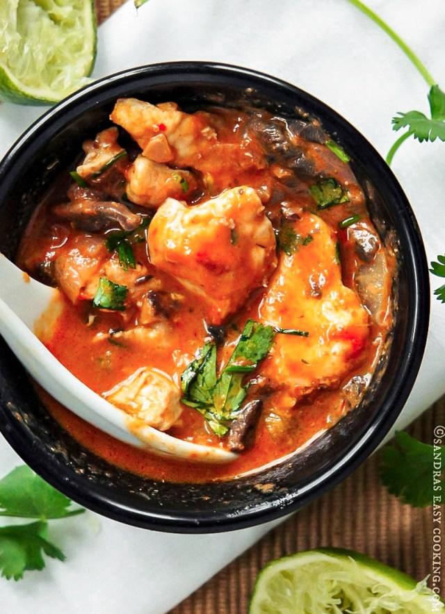Thai Chicken Red Curry Recipe