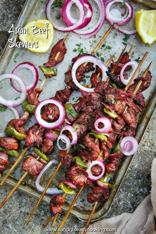 Asian Beef Skewers Recipe
