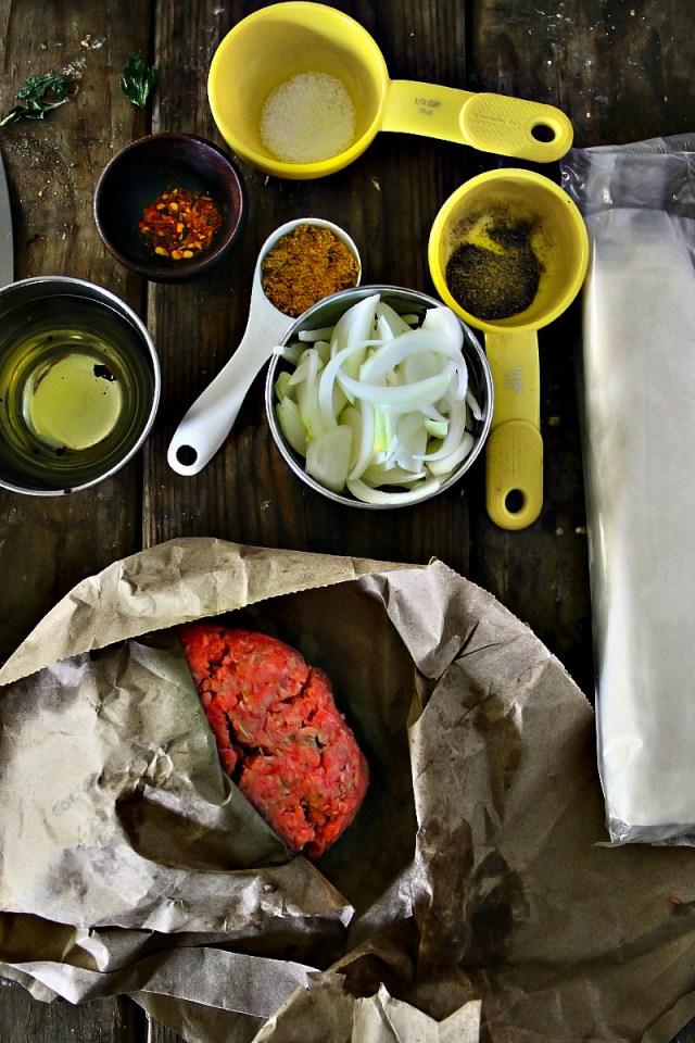 Phyllo Meat Pie PastryBurek