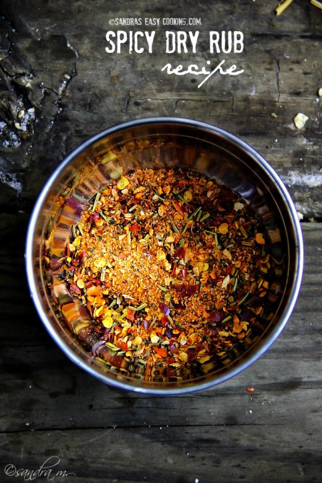 Spicy Dry Rub Seasoning