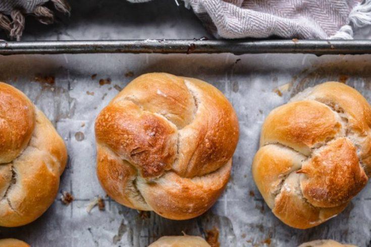 Spiral Twist Bread Rolls