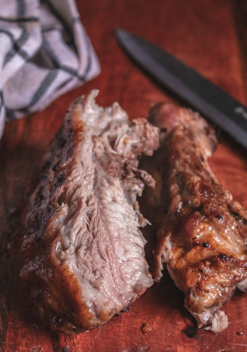 How to cook ribs in a nuwave air fryer