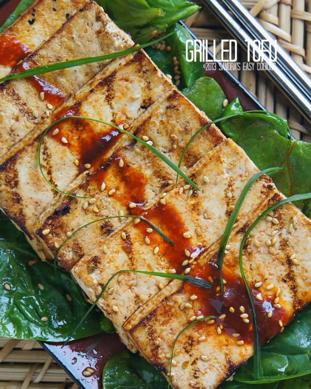 Grilled Marinated Tofu