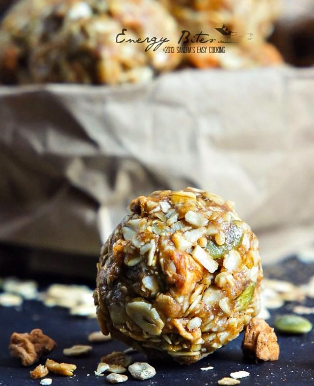 No Bake Muesli Peanut Butter Energy Bites
