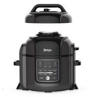 Ninja OP401 Foodi 8-Quart Pressure, Steamer, Air Fryer All-in- All-in-One Multi-Cooker, Black/Gray