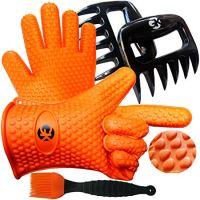 3 x No.1 Set: The No.1 Silicone BBQ /Cooking Gloves Plus The No.1 Meat Shredder Plus No.1 Silicone Baster PLUS eBooks w/ 344 Recipes. Superior Value Premium Set. 100% $ Back (Plastic)