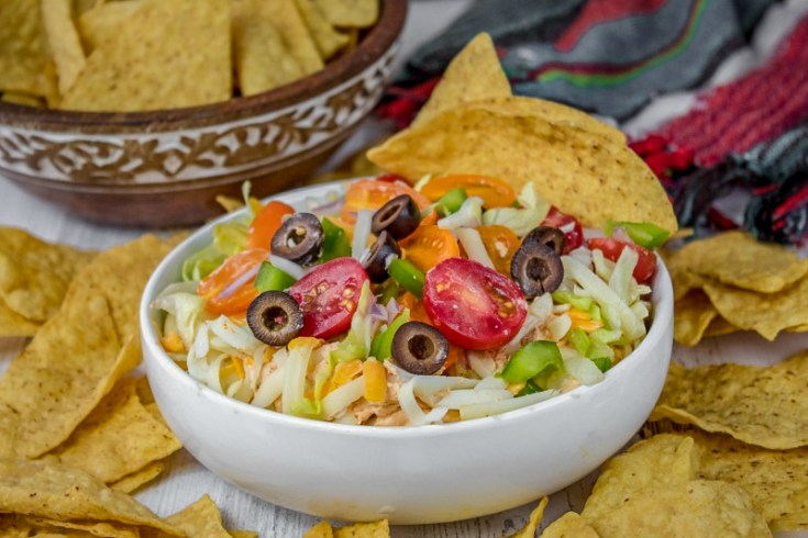 Taco Style Cream Cheese Dip