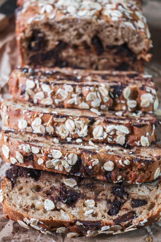 Peanut Butter Chocolate Bread