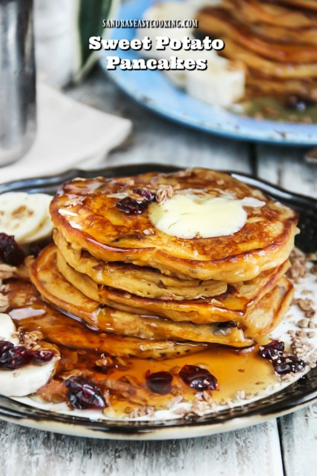 Sweet Potato Pancakes - gluten free