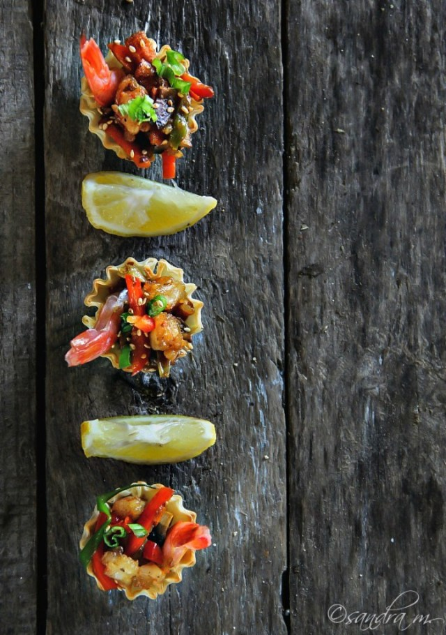 Recipe for Shrimp Stir Fry Bites