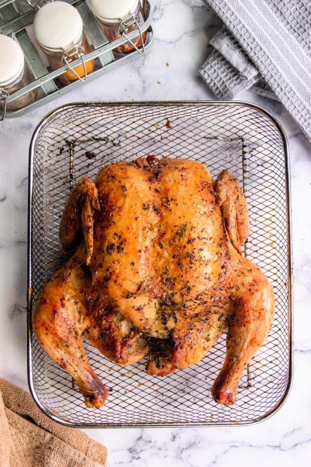 Air Fryer Whole Chicken - Sandra's Easy Cooking Chicken ...