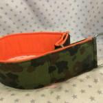 ZugStopp camouflage orange breit
