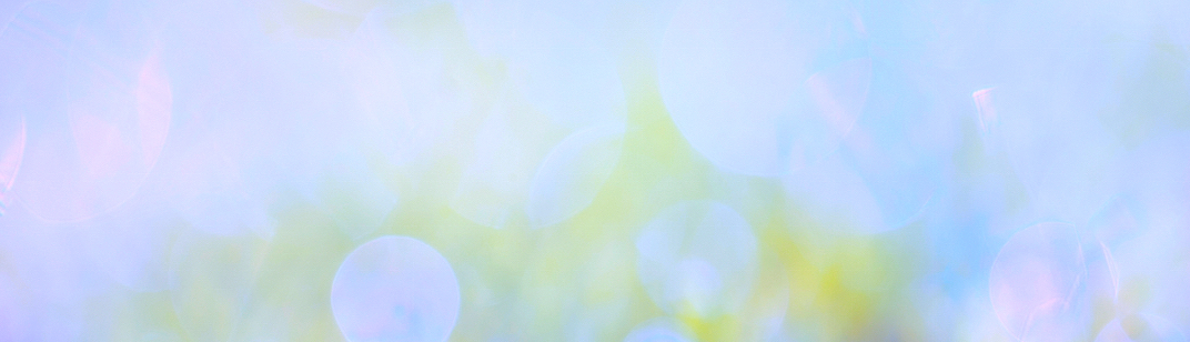 Beautiful abstract blue spring background with blurred focus.