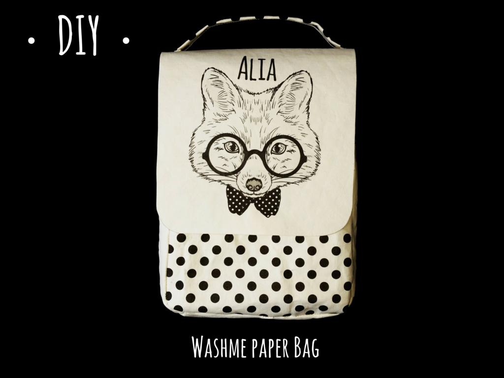 DIY Taschee mit Washme Paper