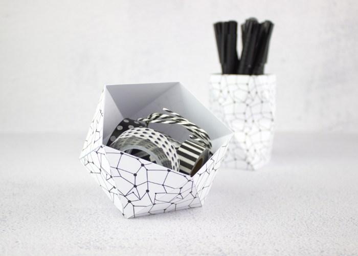 Origami Ball + Origami Utensilo