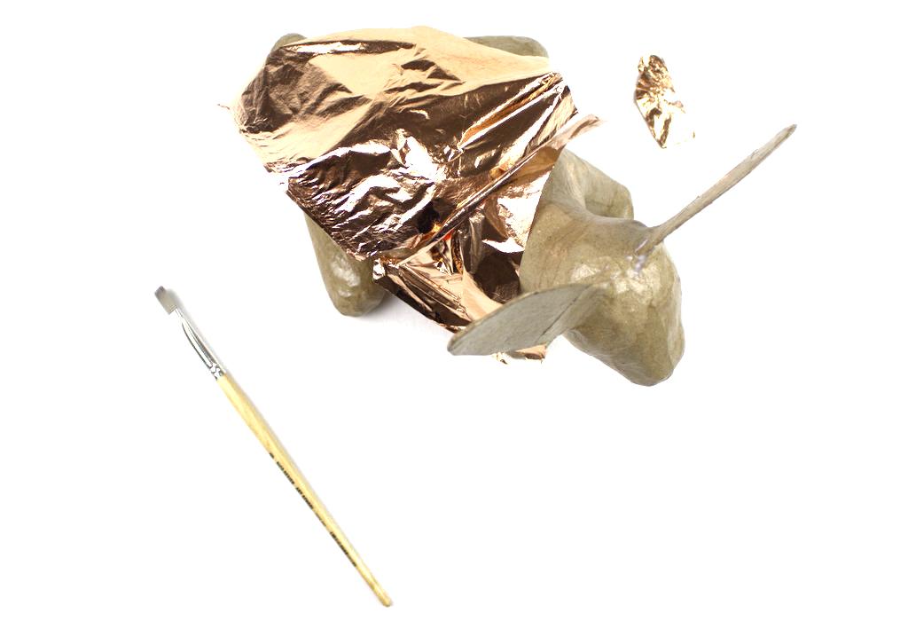 Pappmaché Blattkupfer