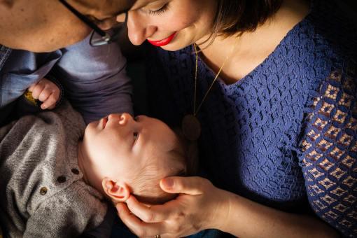 Sarah + Mohamed = Lucas // 1 mois //