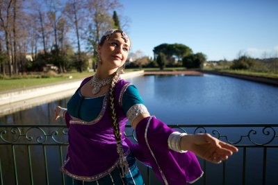 Shooting Bollywood with Aude Rondet